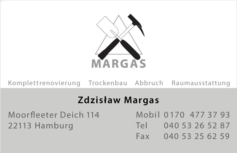 MARGAS Hamburg - Komplettrenovierung Trockenbau Abbruch Raumausstattung